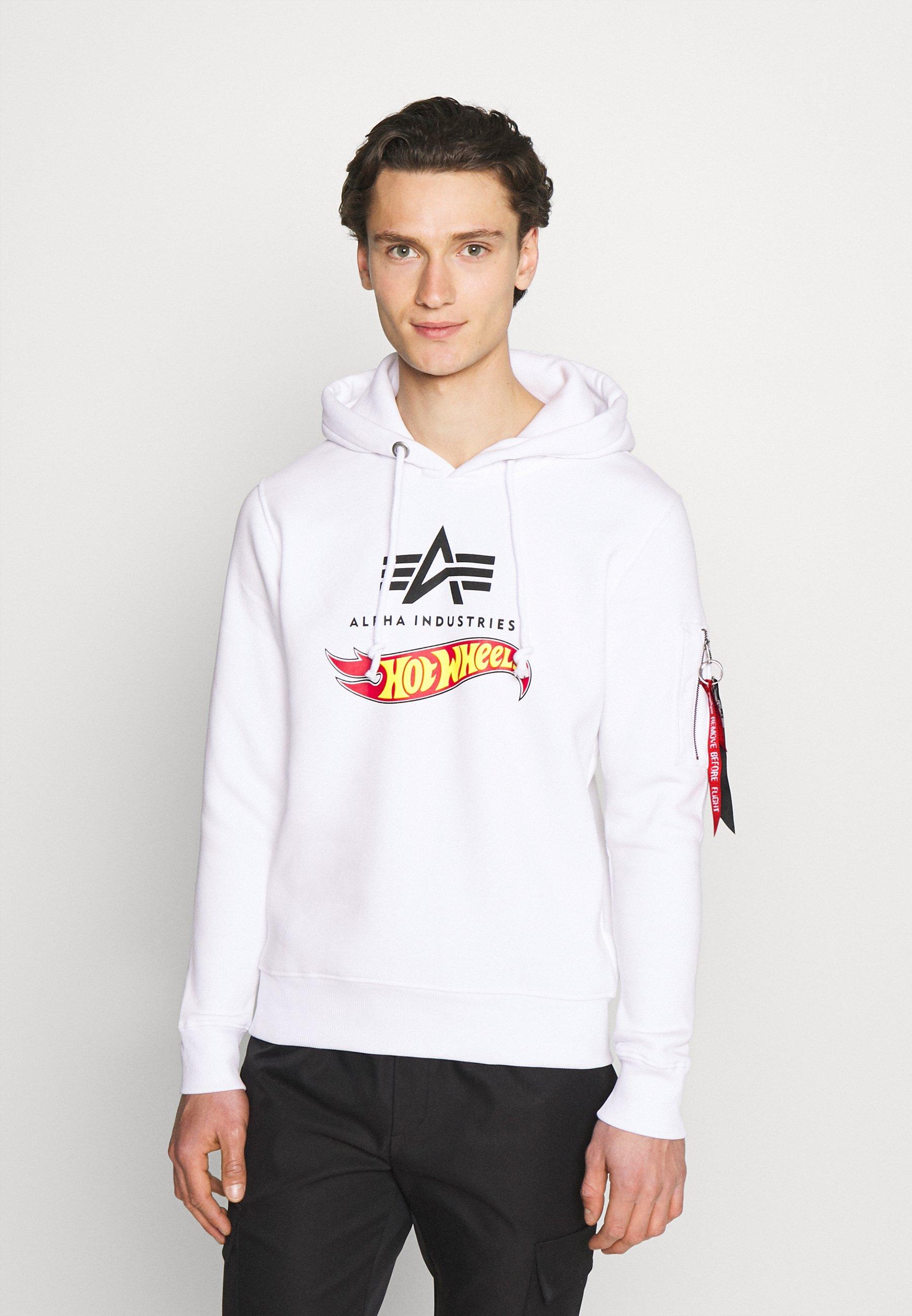 Herren HOT WHEELS FLAG HOODY - Sweatshirt