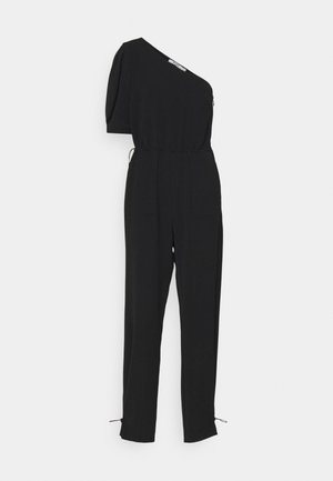 ONE SHOULDER JUMPSUIT - Jumpsuit - black