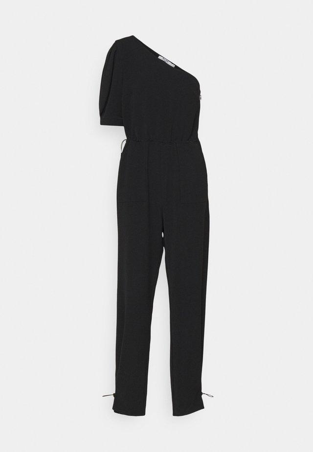 ONE SHOULDER JUMPSUIT - Jumpsuit - black
