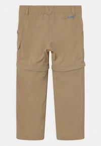 Columbia - SILVER RIDGE CONVERTIBLE 2 IN-1 UNISEX - Outdoor trousers - british tan - 1