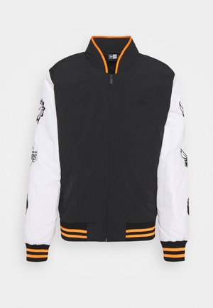 NBA EAST WEST COAST VARSITY JACKET - Article de supporter - black