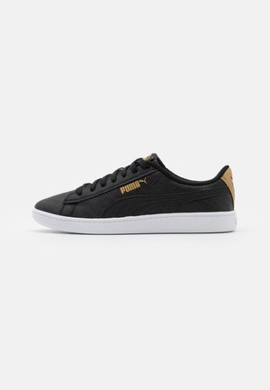 VIKKY - Trainers - black/gold