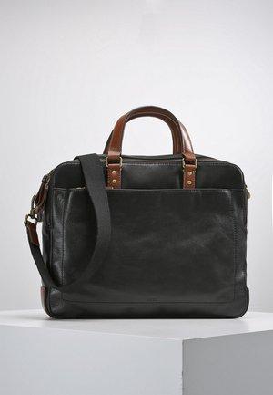 DEFENDER DOUBLE ZIBLACK - Briefcase - black