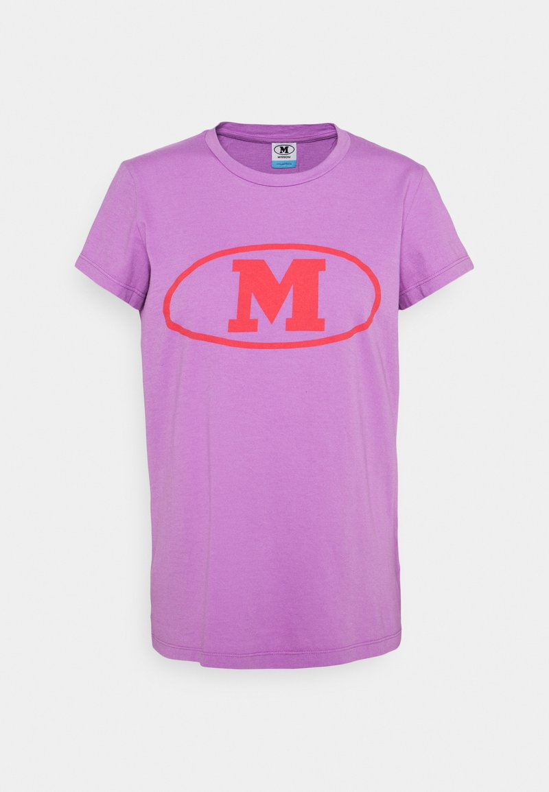 M Missoni - Print T-shirt - purple