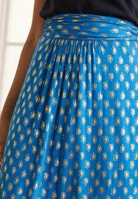 Boden - A-line skirt - marokkoblau paisleymuster - 3