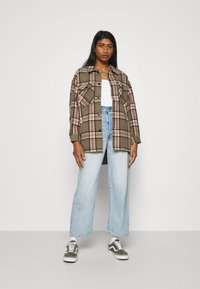 ONLY - ONLELLENE VALDA CHACKET - Summer jacket - balsam green/pink/black - 1