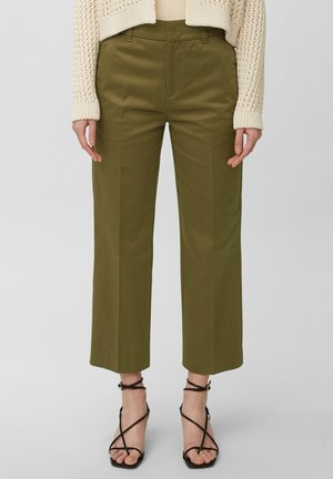 Trousers - moss green
