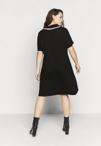 Glamorous Curve - GLAMOUROUS COLLAR DRESS - Day dress - black/white - 2