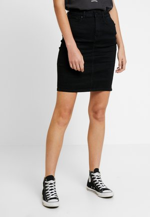 Mini skirt - black washed