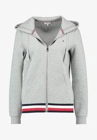 Tommy Hilfiger - HERITAGE ZIP THROUGH HOODIE - veste en sweat zippée - light grey - 3