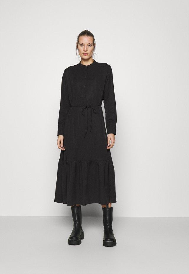 NORINE STEPHIE DRESS - Maksimekko - black