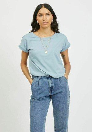 VIDREAMERS - Basic T-shirt - ashley blue