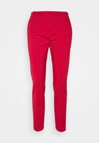 BELLO TROUSERS - Spodnie materiałowe - red