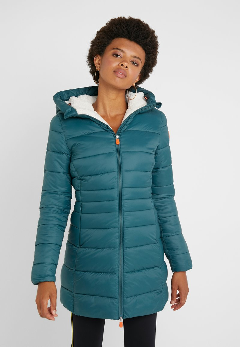 Save the duck - GIGA - Winter coat - alpine green