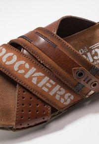 Dockers by Gerli - Mules - cognac - 5