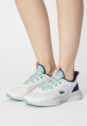 RUN SPIN - Sneakersy niskie - off white/light blue
