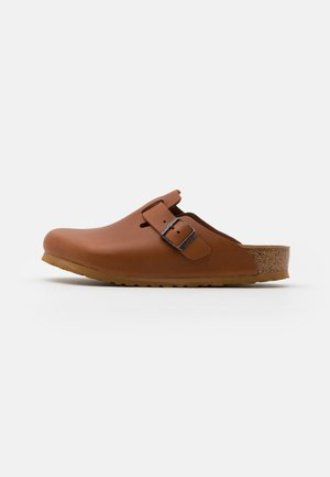BOSTON NATURA - Slippers - natura cognac