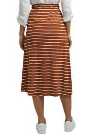 Esprit - A-line skirt - caramel - 2