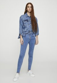 PULL&BEAR - Jeans Skinny Fit - blue denim - 1