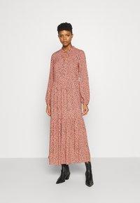 Even&Odd - Maxi dress - pink/black - 0