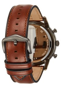 Fossil - TOWNSMAN - Chronograph watch - braun - 2