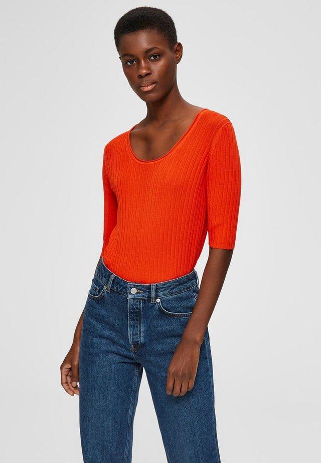 T-shirts basic - orange