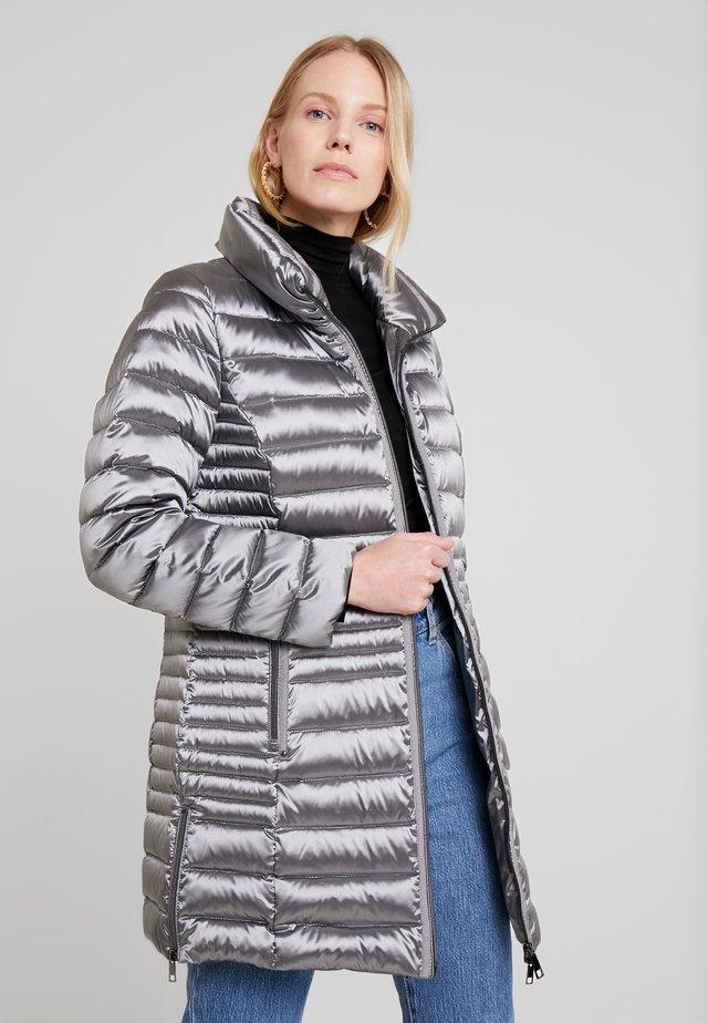 Down coat - silver