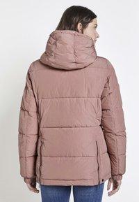 TOM TAILOR - TRENDY PUFFER JACKET - Winter jacket - vintage rose - 2