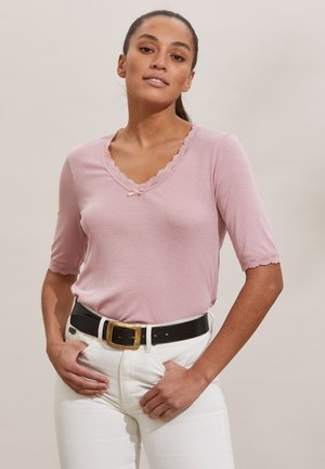 GLADYS - Print T-shirt - pink mauve