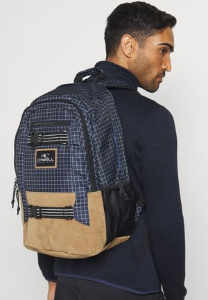 BOARDER BACKPACK - Rucksack - blue/white