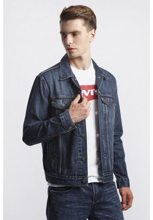 THE TRUCKER JACKET - Veste en jean - palmer trucker