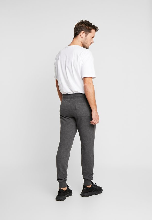 Pier One Spodnie treningowe - mottled dark grey/ciemnoszary melanż Odzież Męska BTQU