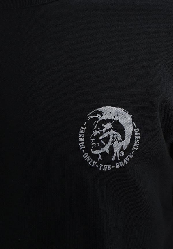 Diesel UMLT-WILLY SWEAT-SHIRT - Bluza - schwarz/czarny Odzież Męska KBEL