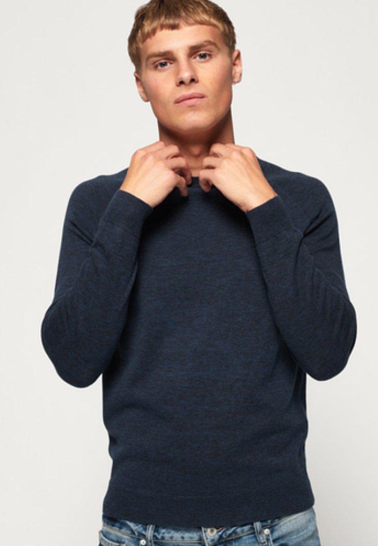 Homme ORANGE LABEL  - Pullover - blue
