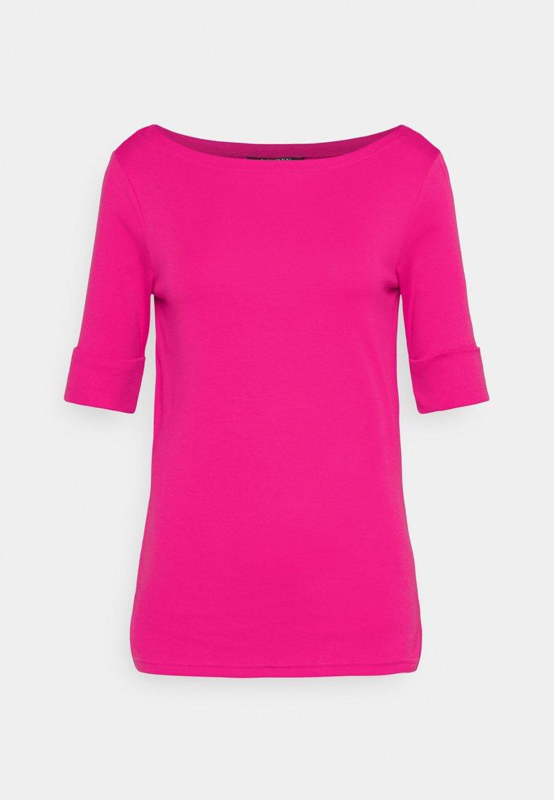 Lauren Ralph Lauren - JUDY ELBOW SLEEVE - T-paita - pink