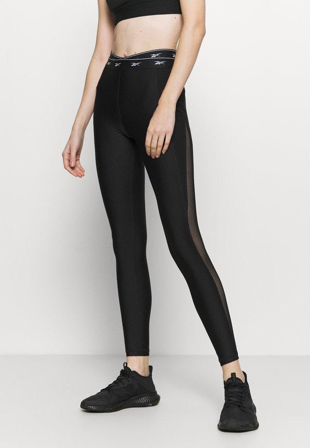 SEASONAL - Collants - black
