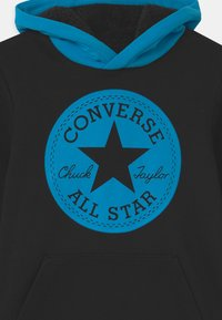 Converse - LINED HOOD - Sweatshirt - black - 2