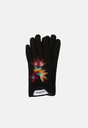GLOVES LOVELY - Fingerhandschuh - black