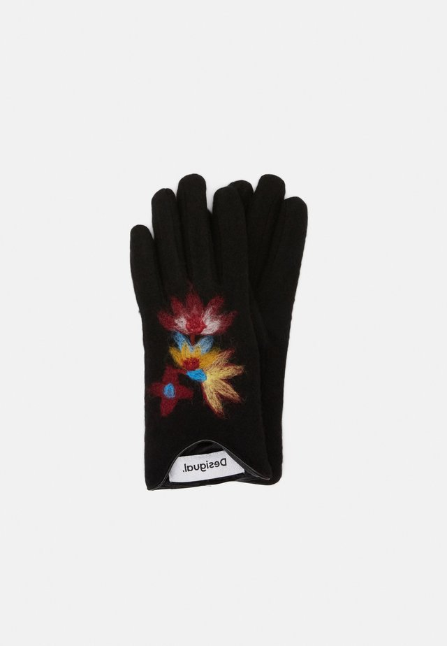 GLOVES LOVELY - Sormikkaat - black