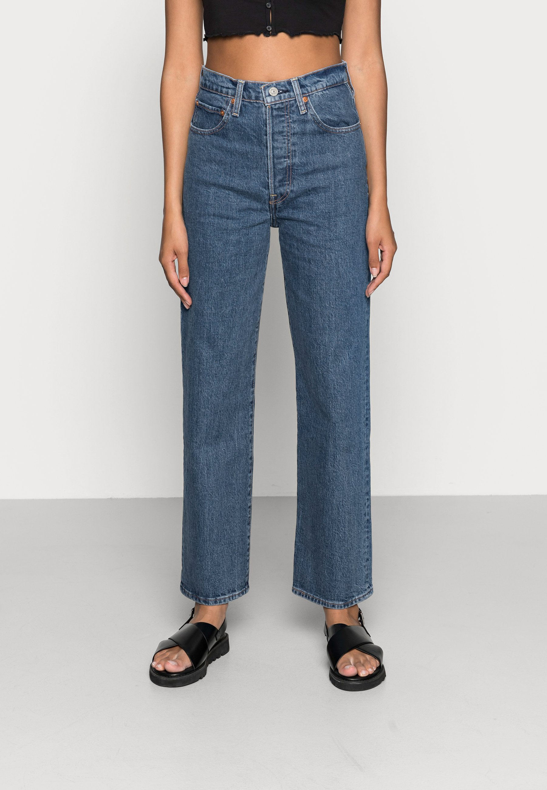 Donna RIBCAGE STRAIGHT ANKLE - Jeans a sigaretta
