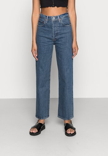 RIBCAGE STRAIGHT ANKLE - Jeans Straight Leg - georgie