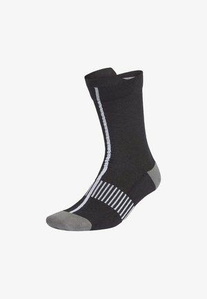 ULTRALIGHT CREW PERFORMANCE SOCKS - Sports socks - black