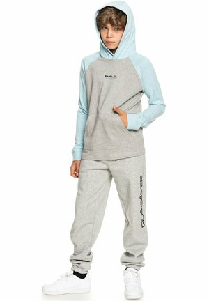 BUXTON - Sweat à capuche - light grey heather