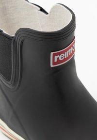 Reima - RAIN BOOTS ANKLES UNISEX - Botas de agua - black - 2