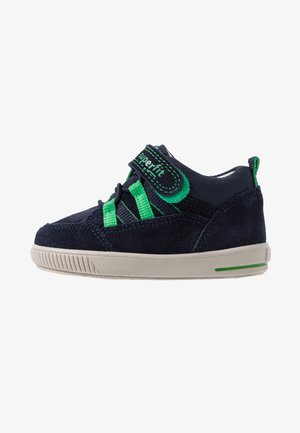 MOPPY - Baby shoes - blau/grün