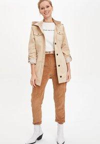 DeFacto - Short coat - beige - 1