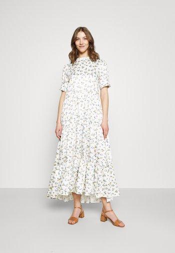WILD FLOWER TIERED DRESS - Maxi dress - ivory