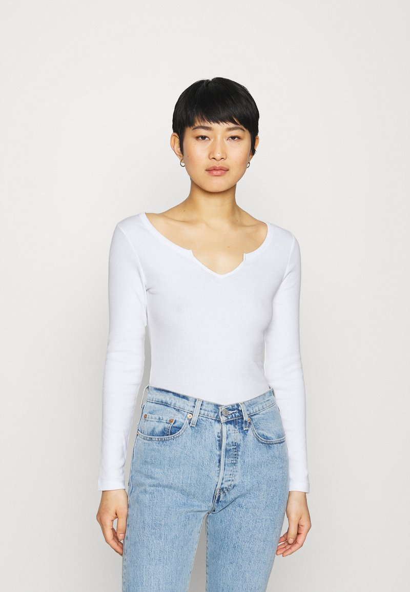 Zign - Long sleeved top - white