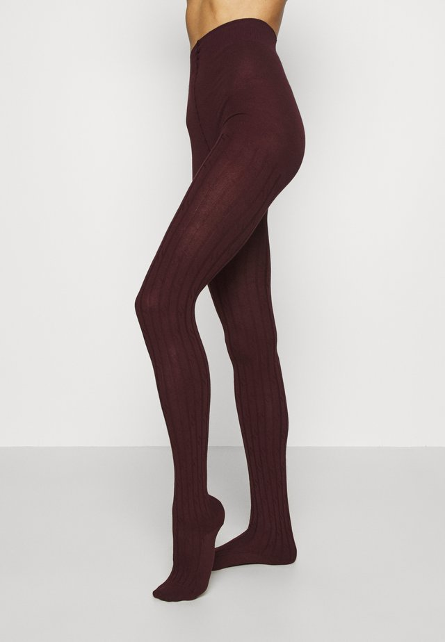 FALKE CLEAN ALLURE STRUMPFHOSE - Collant - barolo