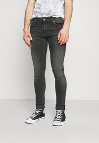 Nudie Jeans - TIGHT TERRY UNISEX - Jeans Skinny Fit - fade to grey - 0